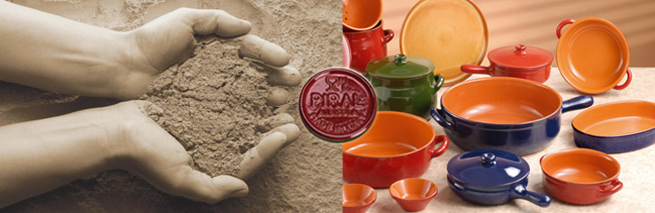 Piral -  Fine, authentic Italian, all natural terracotta cookware